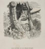 Жан Иньяс Изидор (Жерар) Гранвиль. Сова и мыши