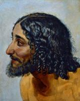 Александр Андреевич Иванов. Мужская голова