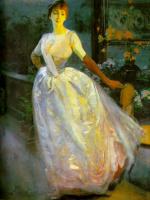 Paul Albert Benar. Portrait of Madame Roger Jourdain