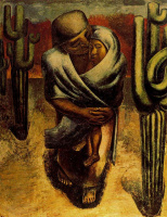 Хосе Давид Альфаро Сикейрос. Любовь матери