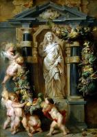 Питер Пауль Рубенс. Статуя Цереры