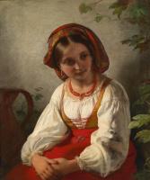Фридрих фон Амерлинг. Итальянская девушка.