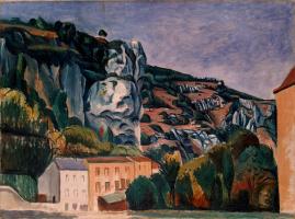 Andre Derain. Rocks
