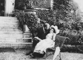 Джузеппе Примоли. Сцена в парке
