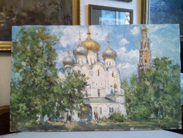 In the Novodevichy monastery
