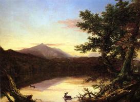 Томас Коул. Озеро