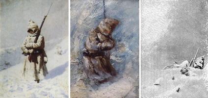 Vasily Vereshchagin. SHIPKA all is quiet. Triptych. Reconstruction