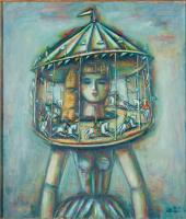 "Alexander Grigoryevich Tyshler. From the ""Carousel"""