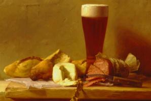 Патриция Уотвуд. Пиво, салями и козий сыр