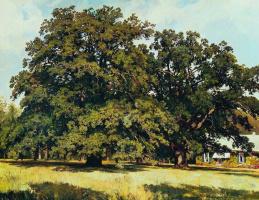 Ivan Ivanovich Shishkin. Mordvinova oaks