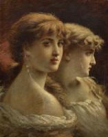 Fedor Petrovich Chumakov. Two sisters.
