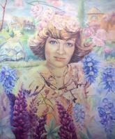 Сальфаир Salfair (Mariya Miroshnikova). Портрет в стиле Прованс