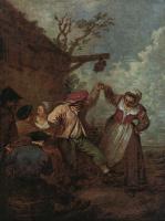 Антуан Ватто. Крестьянский танец