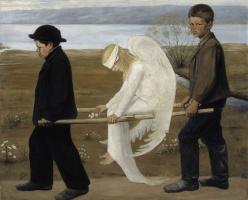 Hugo Simberg. The wounded angel