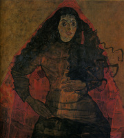 Egon Schiele. Portrait Work Engel