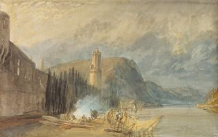 Джозеф Мэллорд Уильям Тёрнер. Римская башня, Андернах