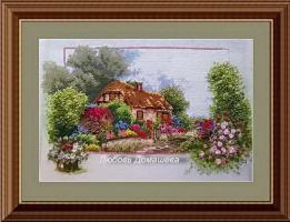 Любовь Домашева. Деревянный домик в деревне