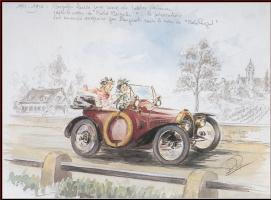 Рой Роб. Дети в автомобиле