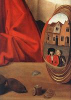 Петрус Кристус. Ювелир в своей лавке (святой Элигий). Фрагмент