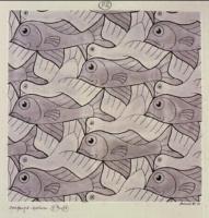Maurits Cornelis Escher. Bird, fish (No. 82)