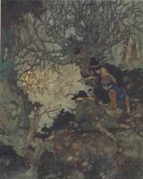 Эдмунд Дюлак. Иллюстрация к сказке Снежная Королева 002