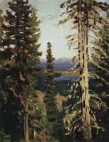 Аполлинарий Михайлович Васнецов. Лес на горе Благодать