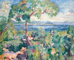Henri Manguin. The Bay Of Saint-Tropez