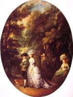 Томас Гейнсборо. Герцог и герцогиня Камберленд