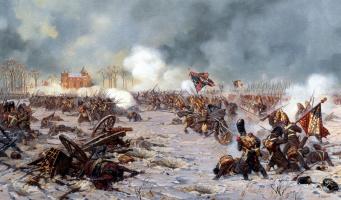 Aleksandr Yurievich Averyanov. Attack of the Moscow regiment