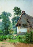 Ефим Ефимович Волков. Пейзаж с заброшенным домом