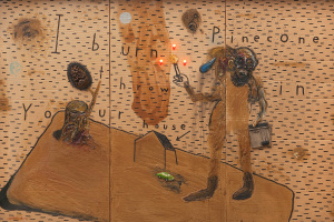 David Keith Lynch. I set fire to a fir cone and throw in your house