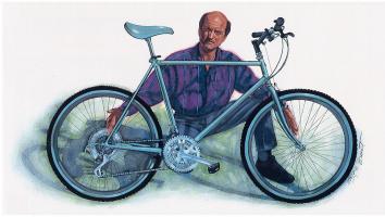 Майк Брент. Велосипед
