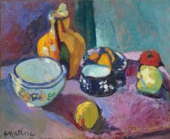 Анри Матисс. Посуда и фрукты