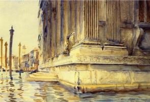 John Singer Sargent. The Palazzo Grimani. Venice