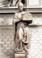 Микеланджело Буонарроти. Святой Петроний
