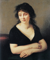 Антуан-Жан Гро. Портрет мадам Брюйер