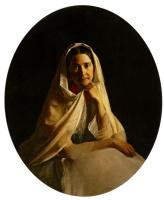 Сергей Константинович Зарянко. Портрет М. И. Аврориной