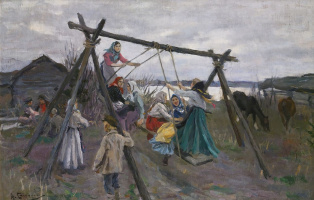Алексей Степанович Степанов. Качели