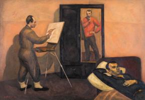 Виктор Ефимович Попков. Три артиста