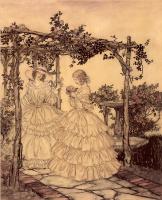 Артур Рэкхэм. Розовый сад
