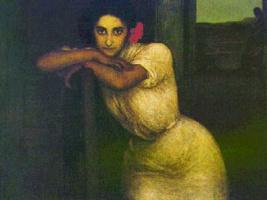 Хулио Ромеро де Торрес. Цветок в волосах