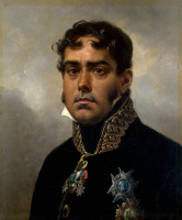 Эмиль-Жан-Орас Верне. Портрет генерала Пабло Морильо