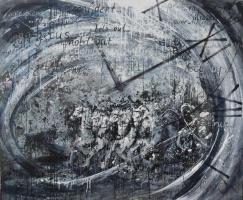 "Tanya Vasilenko. Time reversed. From ""Time"" artworks series"