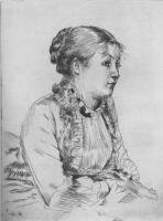 Джеймс Тиссо. Портрет женщины