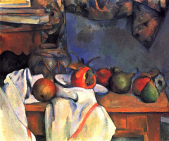 Paul Cezanne. Still life with ginger pot
