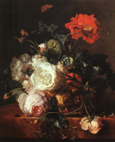 Ян ван Хейсум. Белые розы