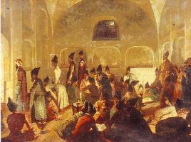 Григорий Григорьевич Гагарин. «В персидской мечети в Эривани»