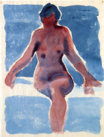Georgia O'Keeffe. Nude