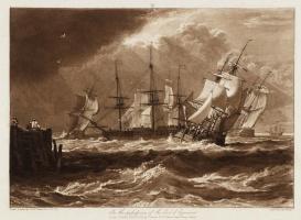 Корабли во время бриза
