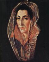 Доменико Теотокопули (Эль Греко). Портрет дамы